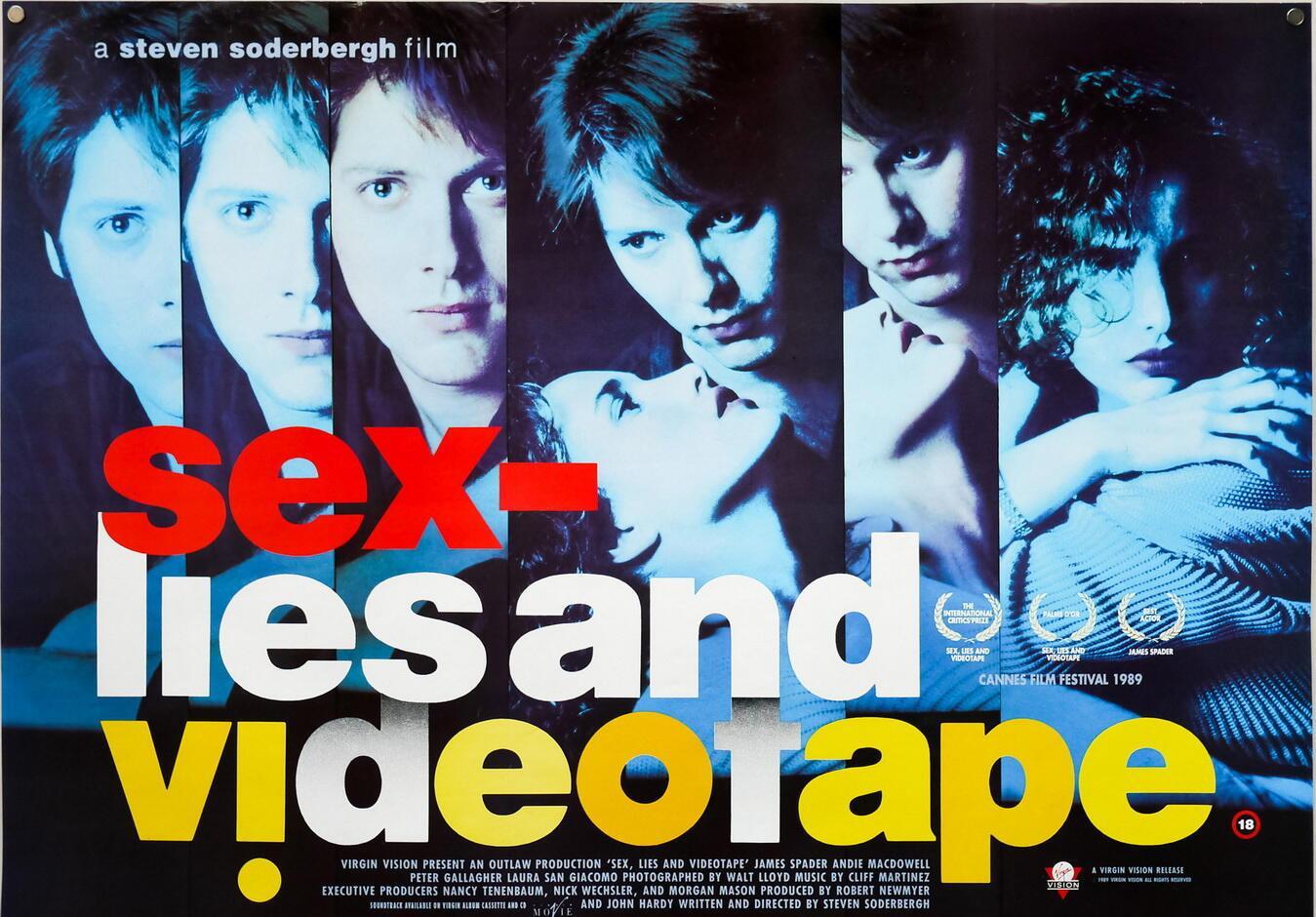 """Секс, ложь и видео"". Фильм Стивена Содерберга (1989)."