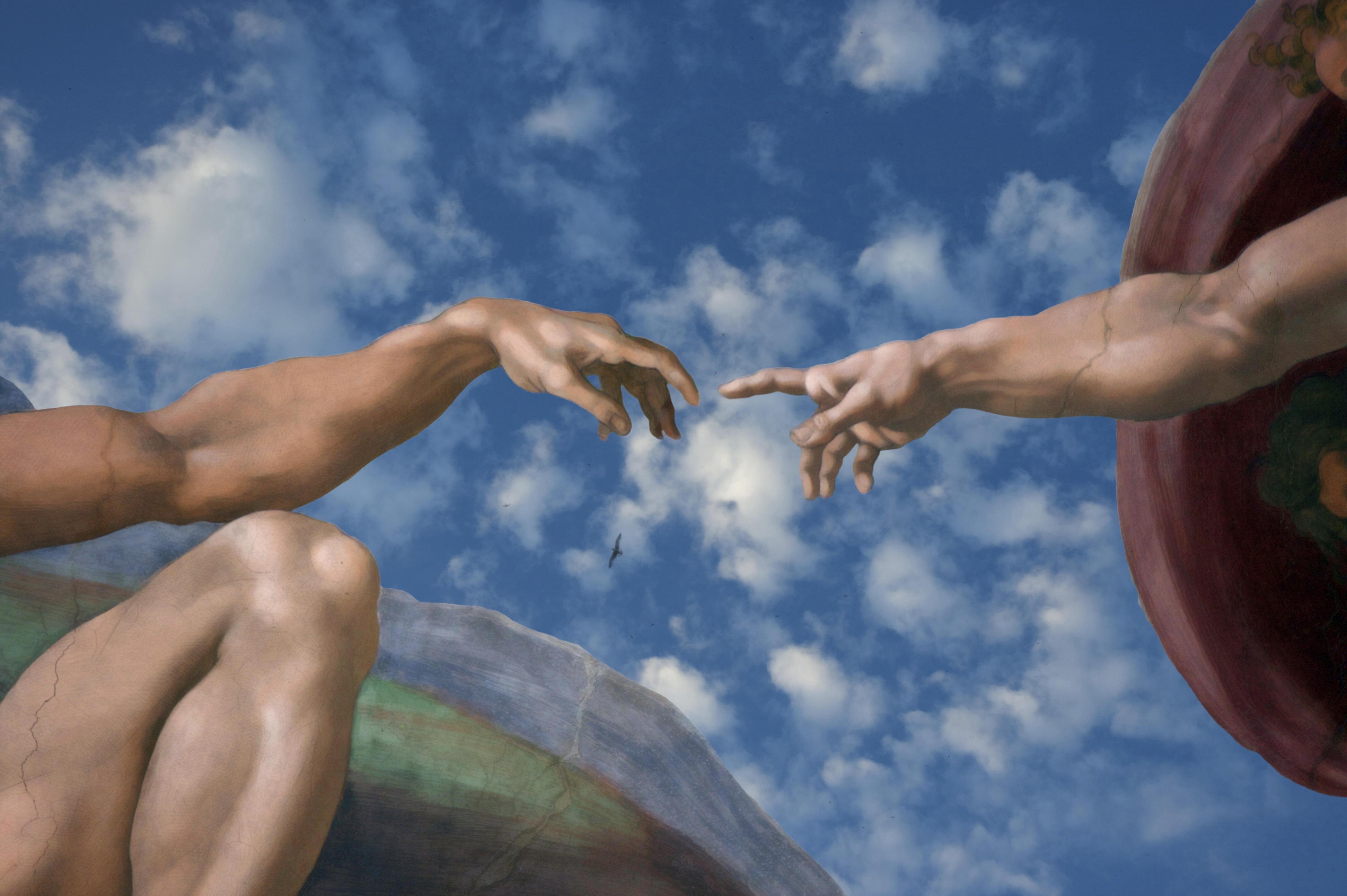 Обои на рабочий стол руки тянущиеся друг к другу