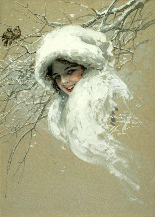 Мороз-воевода (акростих)