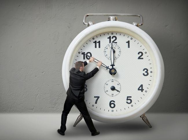 Время не спеши