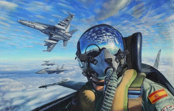 Моему другу - военному летчику - посвящается