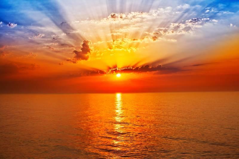 Открытки солнышко и море, днем рождения для