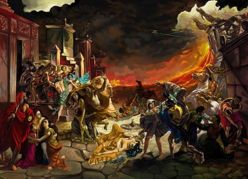 Предпоследний день Помпеи