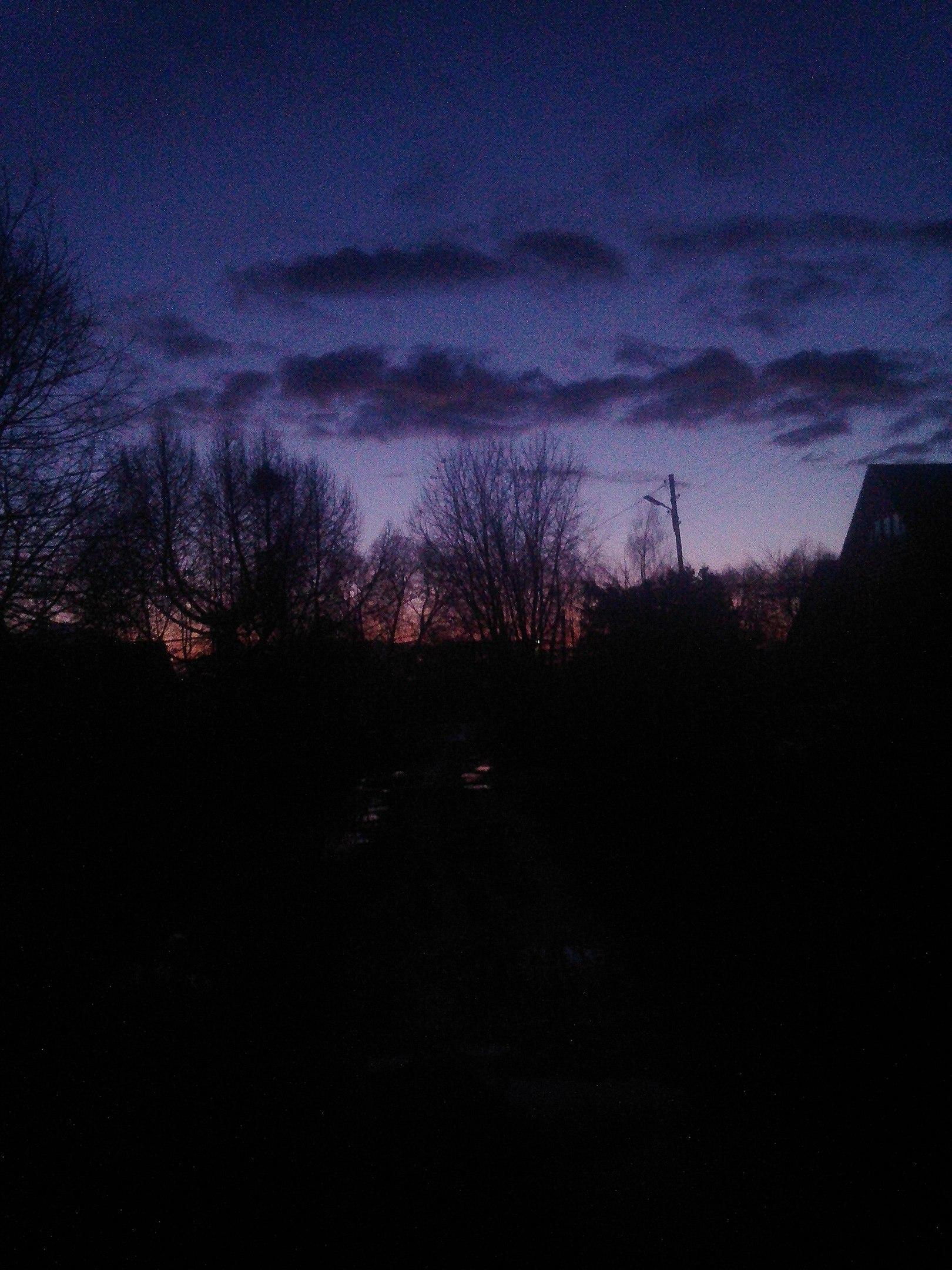 Фиолетовый Вечер.