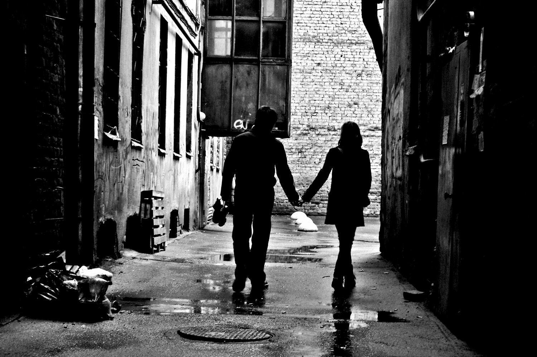 В подворотнях судьбы мы гуляли с тобой