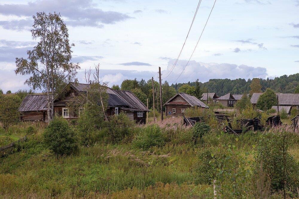 деревня забытая