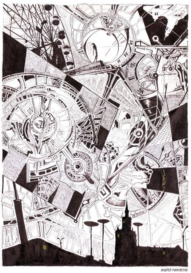 """Сергей Ивкин. Авторы журнала """"Белый ворон"""", Андрей Мансветов"""