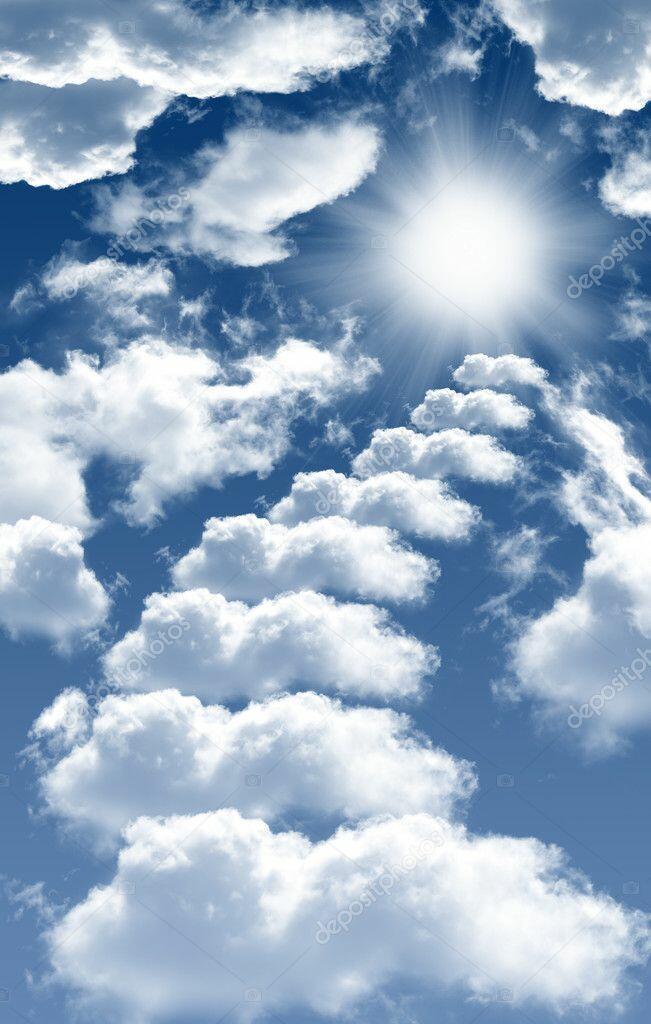 На Небо лесенка стоит...