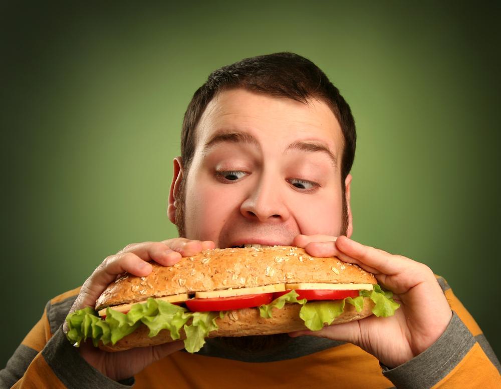 Фото еда и человек
