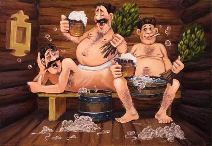смотреть онлайн как моются в бане-фс3