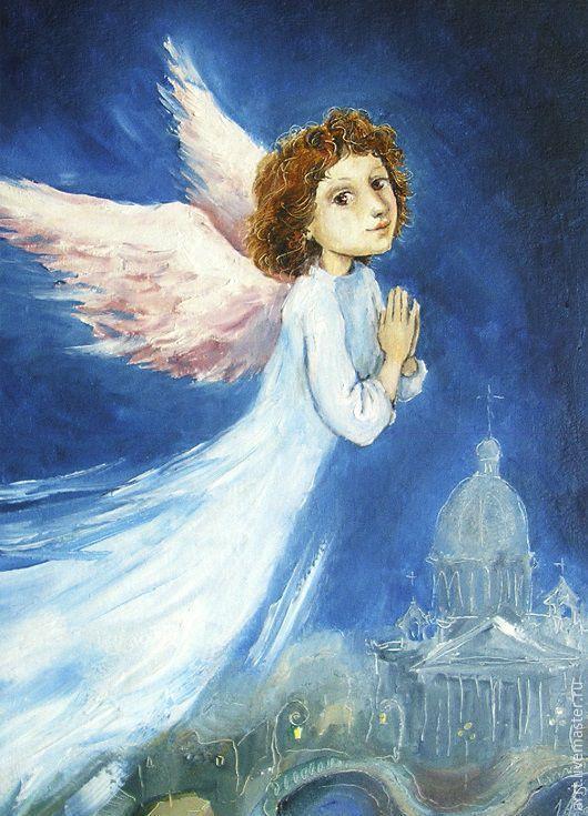 Ангелы поют открытки, виде