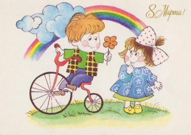 Праздник 8 марта Серебрянского Детского дома.