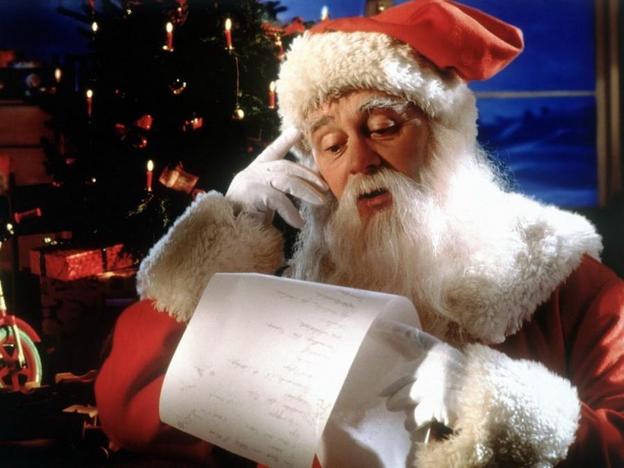 Ответ поэту - Медведь Белый - Многоуважаемый Дед Мороз