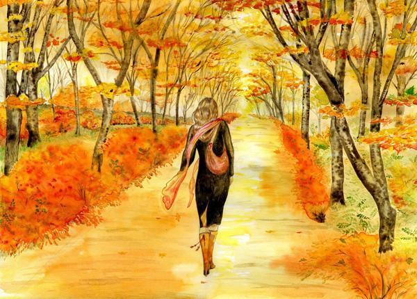 Хочется осенью – сплина немного.