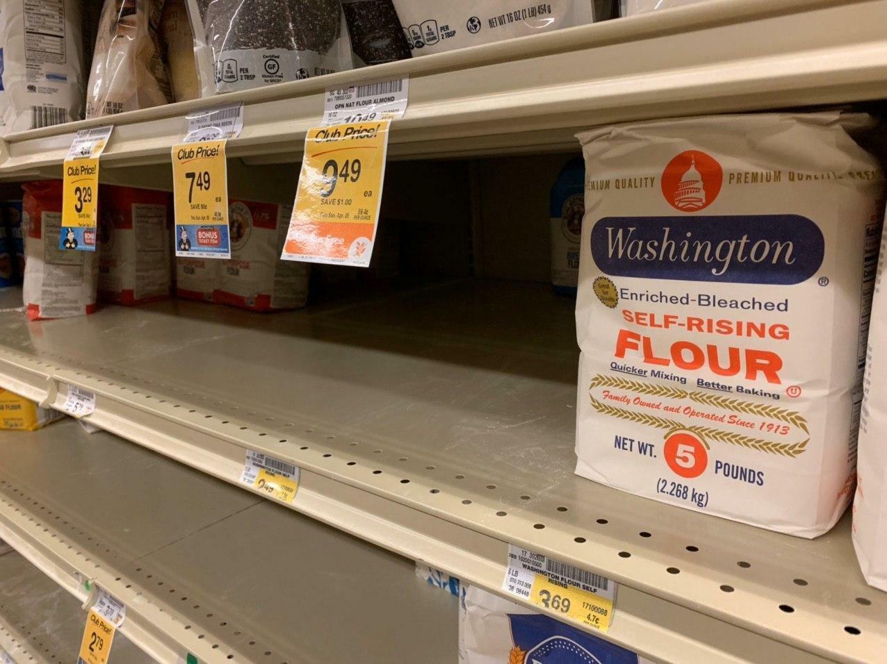 В Вашингтоне!.. нет туалетной бумаги и курей