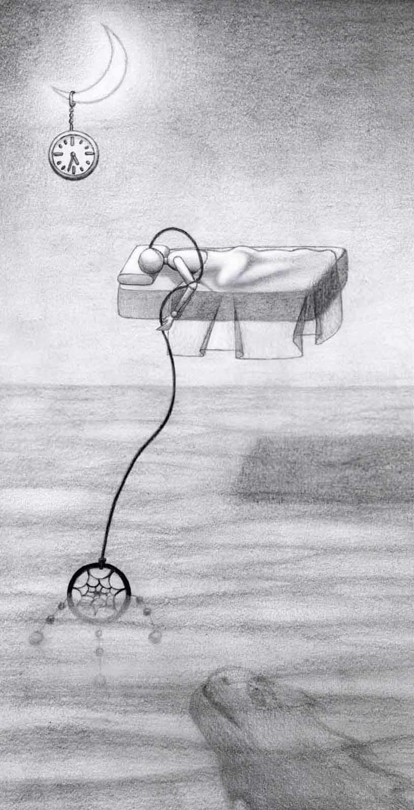 Рисунки сны карандашом