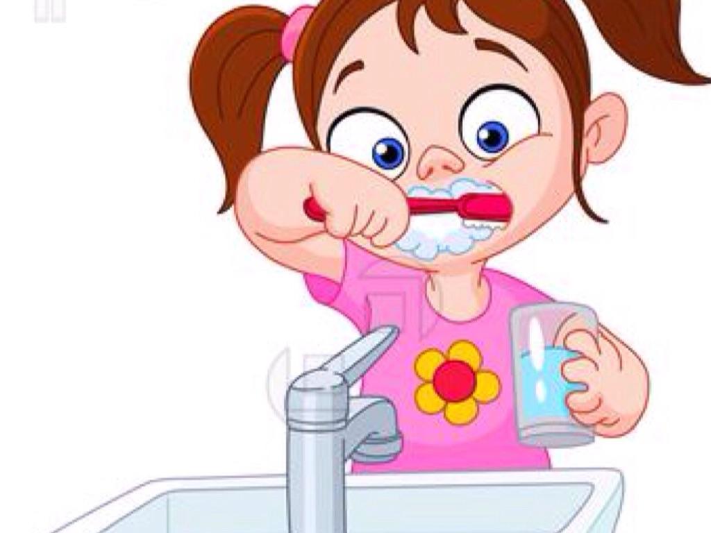 Картинки для детей дети чистят зубы
