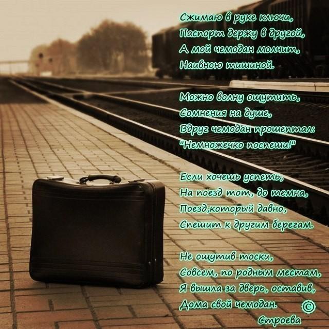 задняя стихи про чемоданное настроение накладная ттн