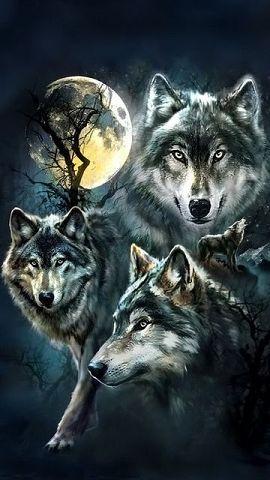 картинки волка скачать на телефон