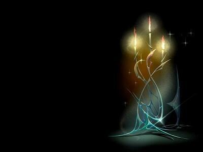 Зажигаю в ночи свечи