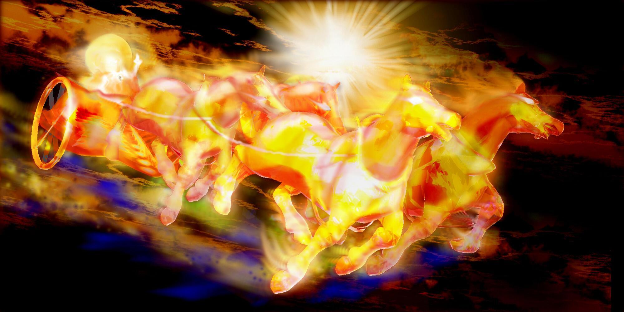 Обожжённое эхо ( к муз.треку Огненные колесницы)