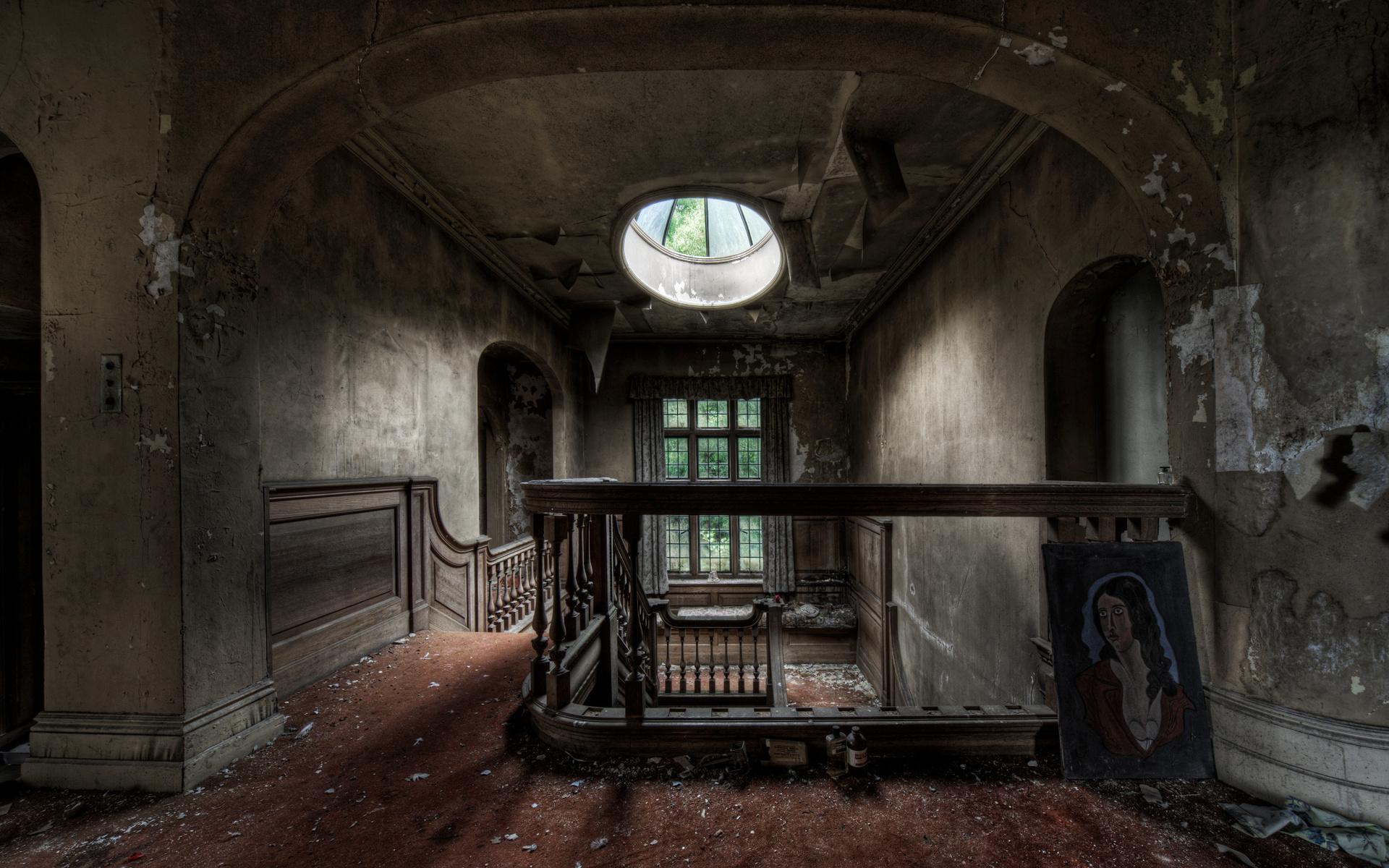 картинки заброшенного дома внутри эти понятия