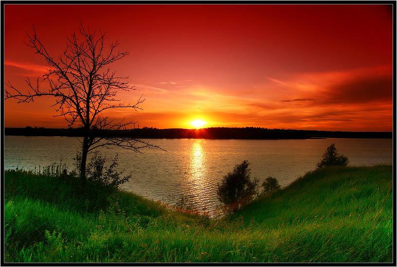 картинки природу вечер или день феномен наблюдался