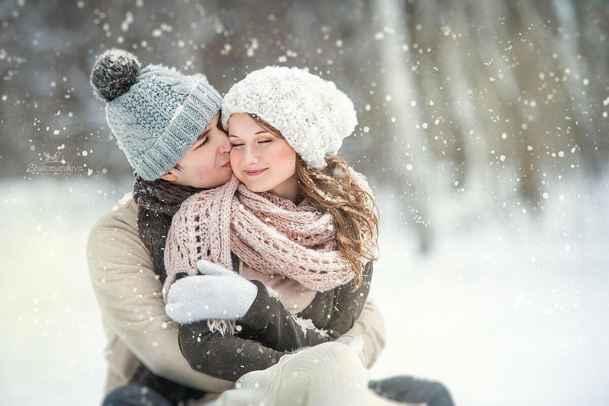 Любовь в снегу картинка