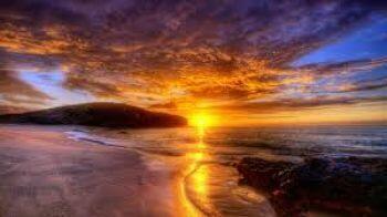 Вне берега закат…