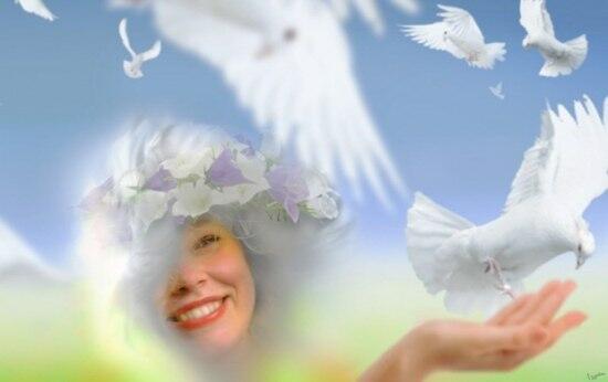 Одаренной небом-Небесной Людмиле......
