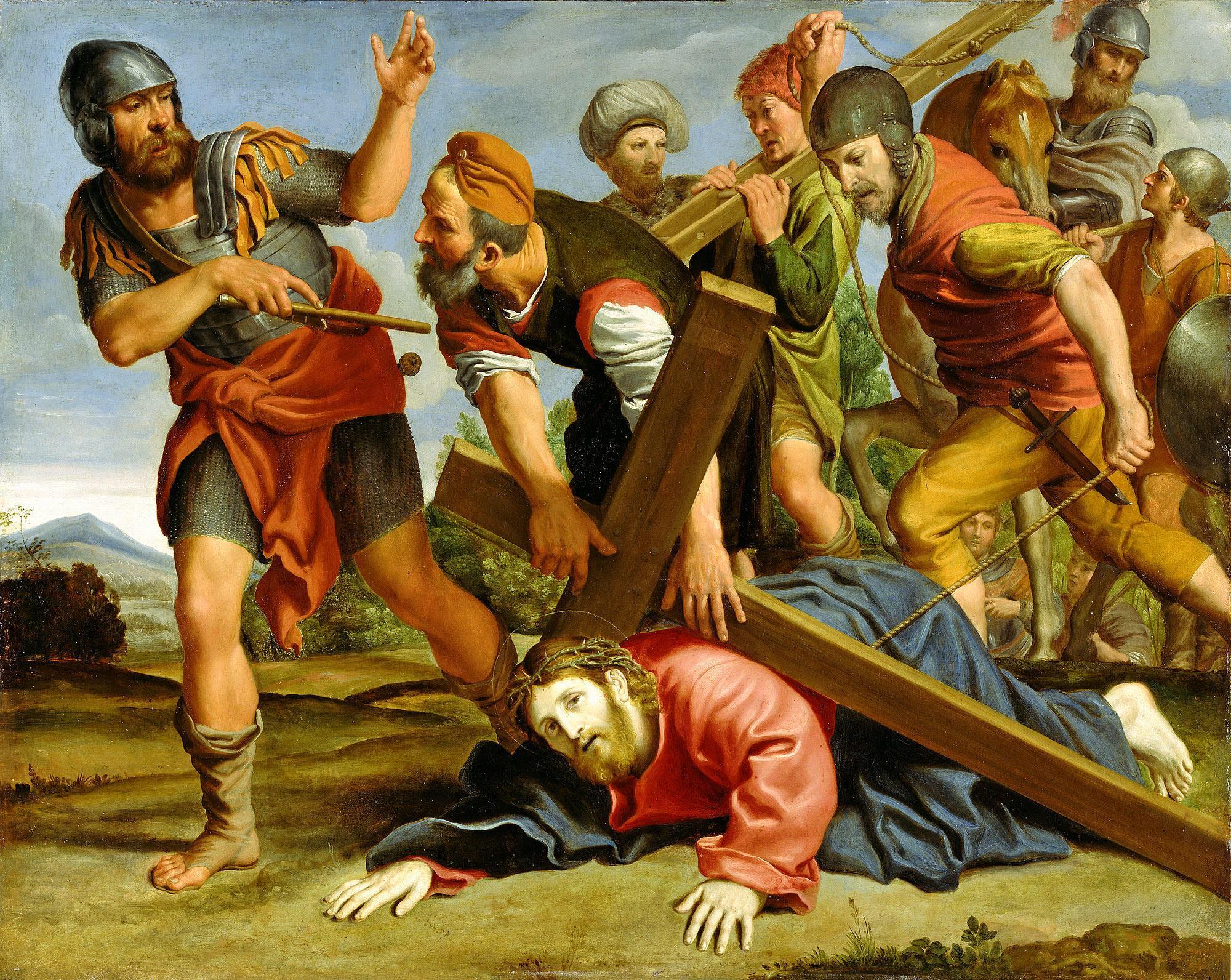 Картинки крестный путь иисуса христа на голгофу