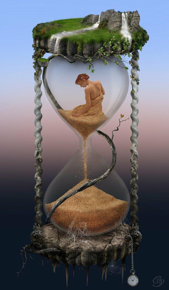 Песочные часы любовь картинки