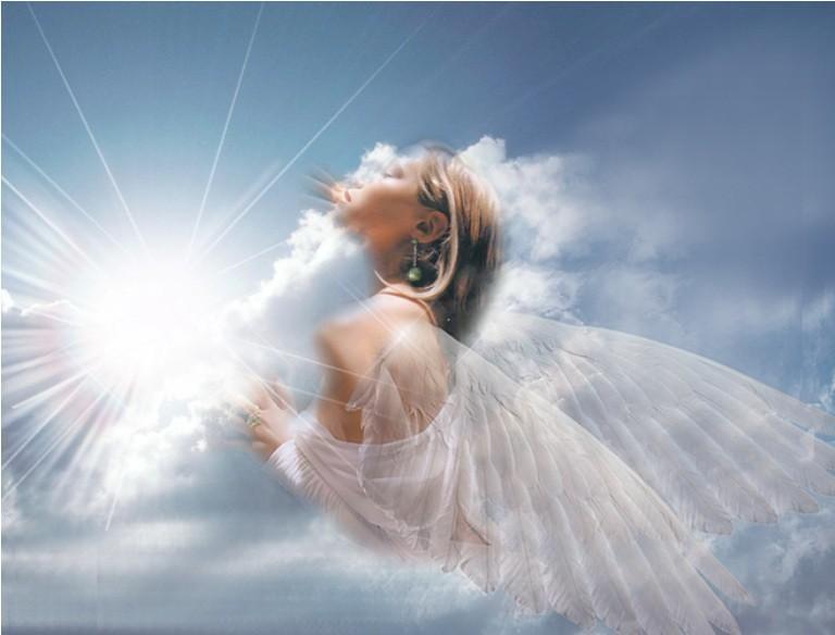 Если ты увидел на фотографии ангела крыльях