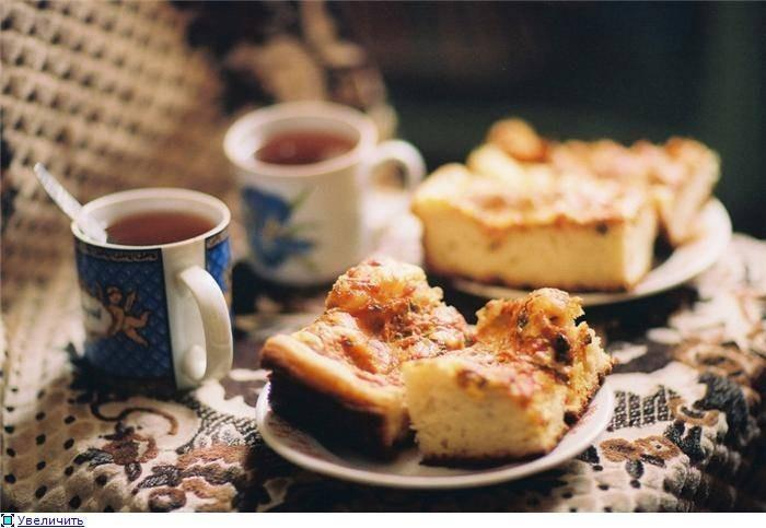 Картинки с пирогом и чаем