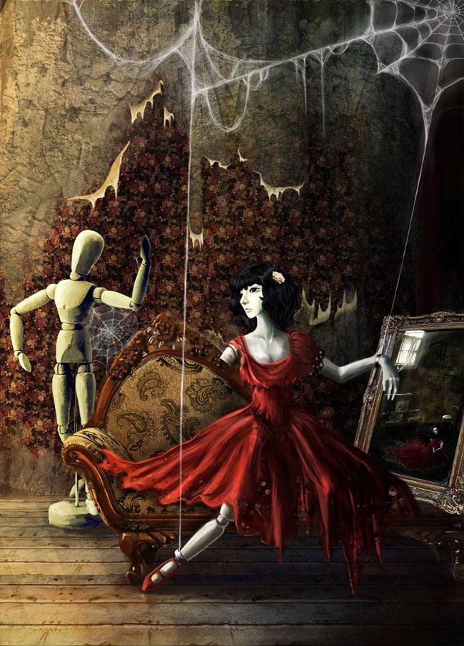 кукла колдуна картинки окружение люди