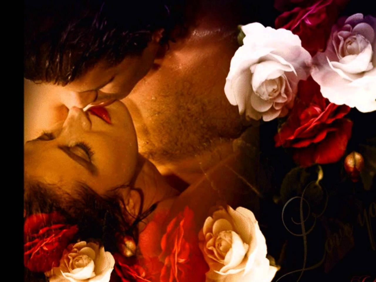 Открытки страстного поцелуя