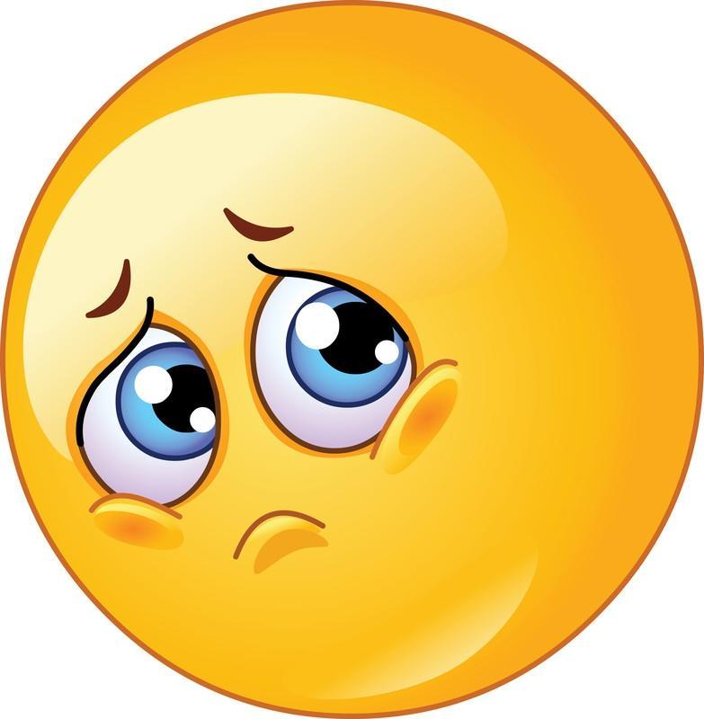 Картинка грустного колобка
