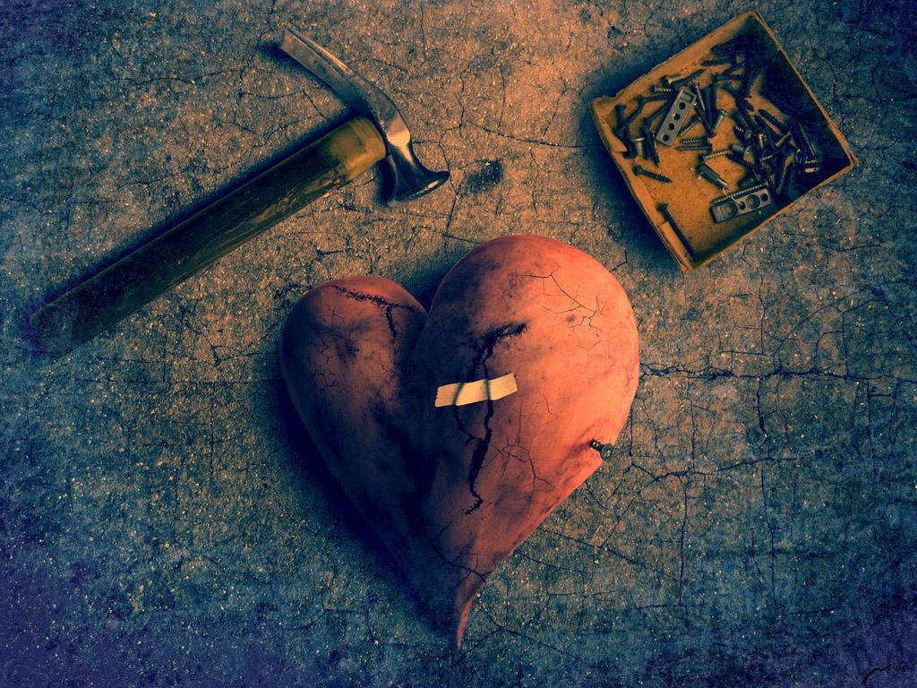 одна самых картинки сердце разбито от обид этого вам