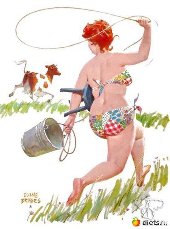 Смешные картинки женщин на огороде, джума