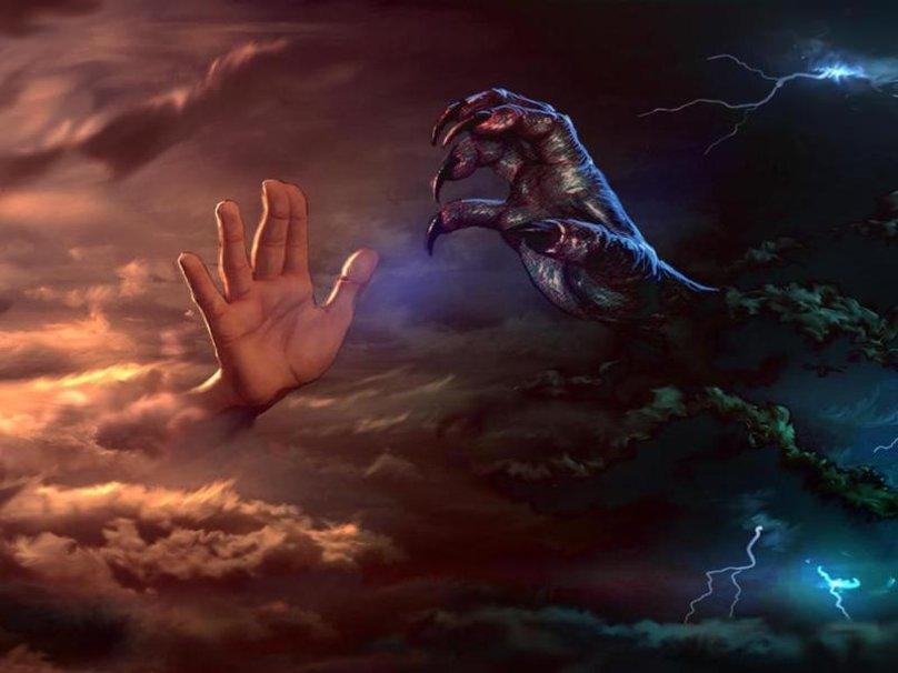 good vs evil divine justice in