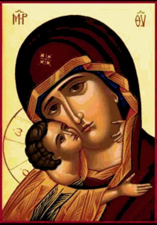 К празднованию иконы Пресвятой Девы Марии Владимирской