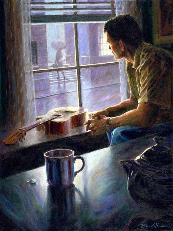 Я тебя рисую сидя у окна авторы