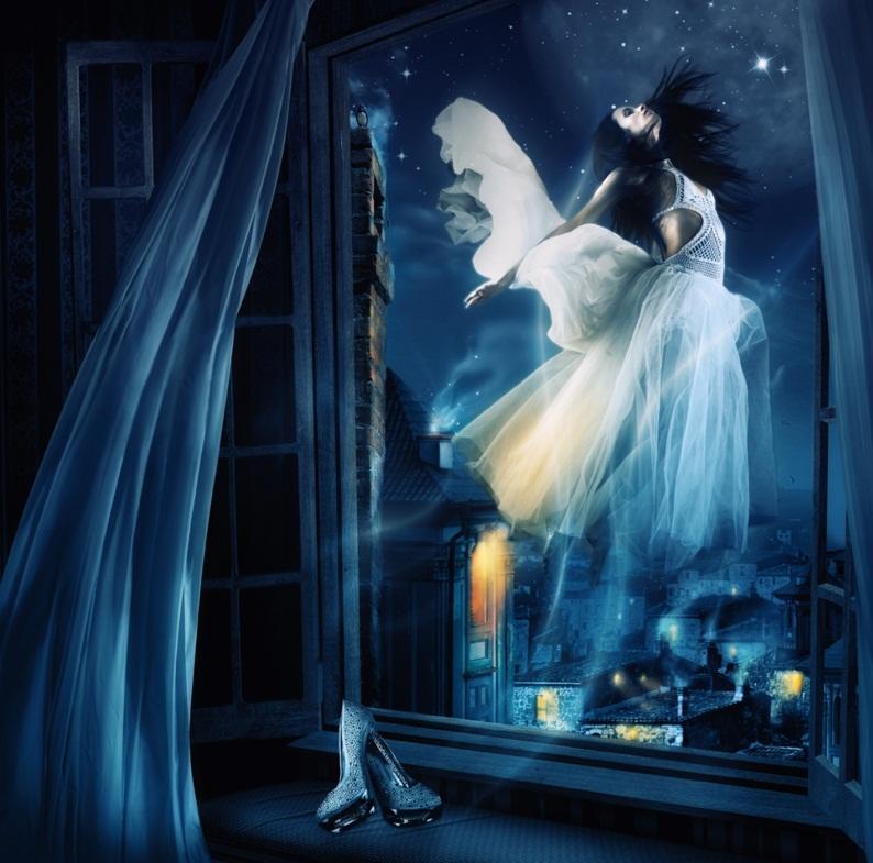 картинки с ангелами на ночь крохе лежится одном