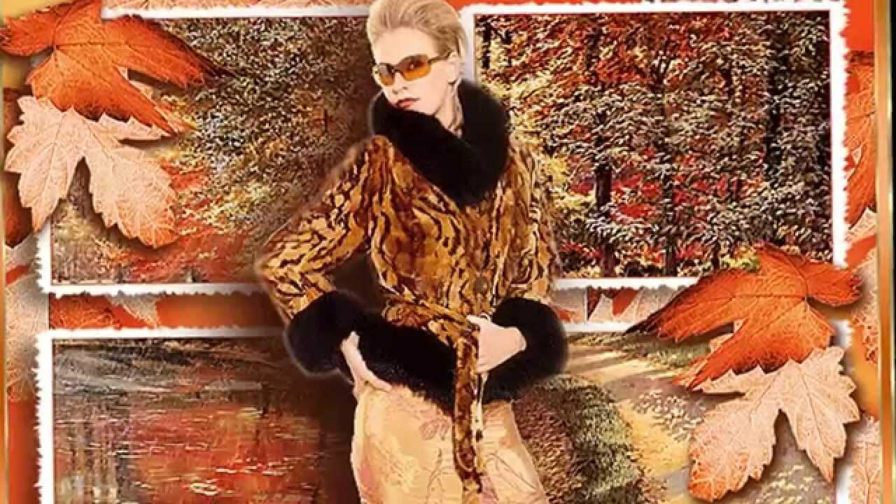 Женщина и осень