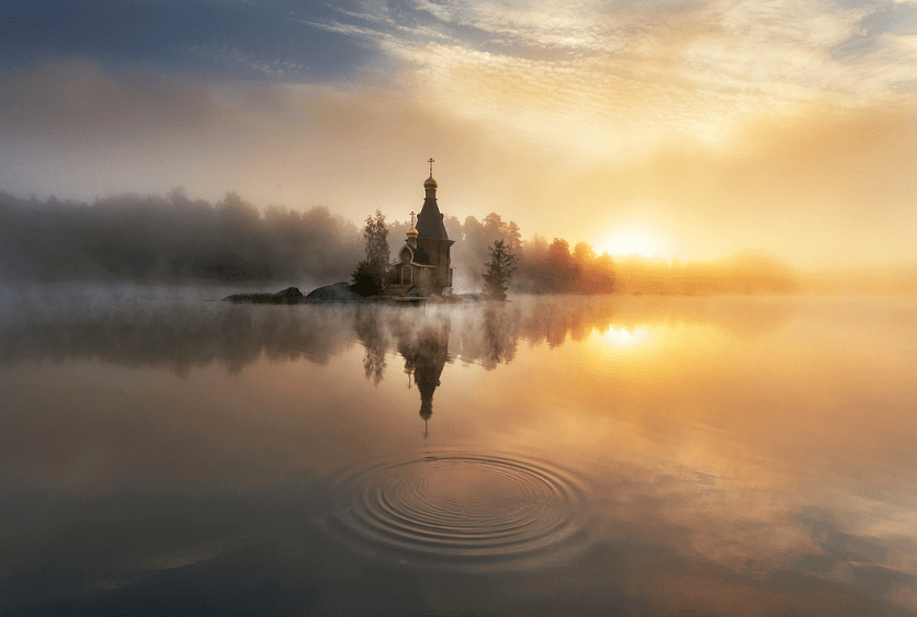 России редко радуют рассветы