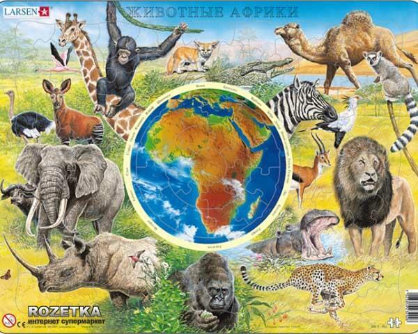 В центре Африки страна