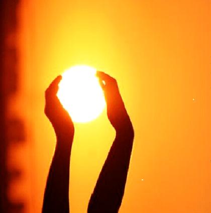 Моё солнце.