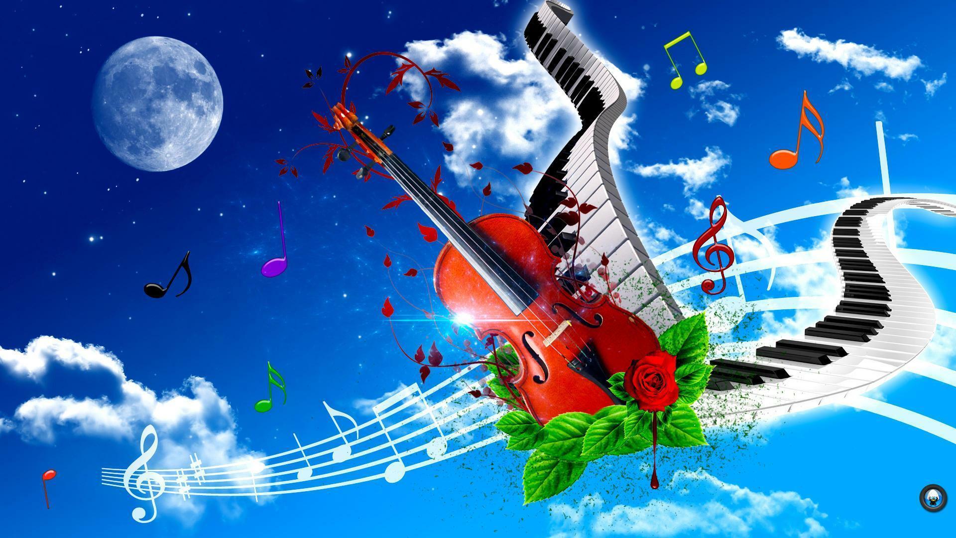 Красивые картинки и музыка к ним, картинкой анимацией прикольные