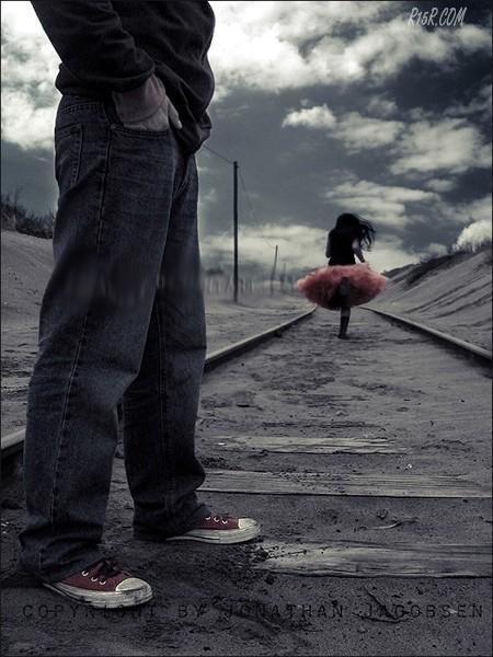 Можете настраиваться морально и в действительности вам не избежать расставания.