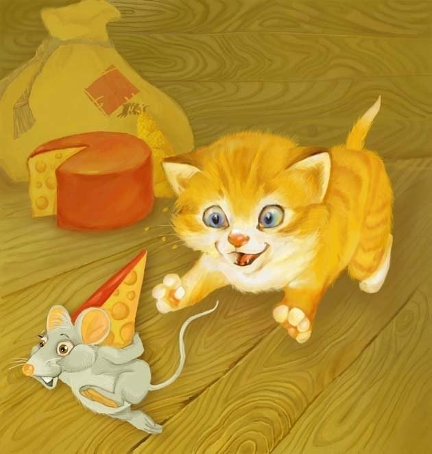Картинки мышек и кошек